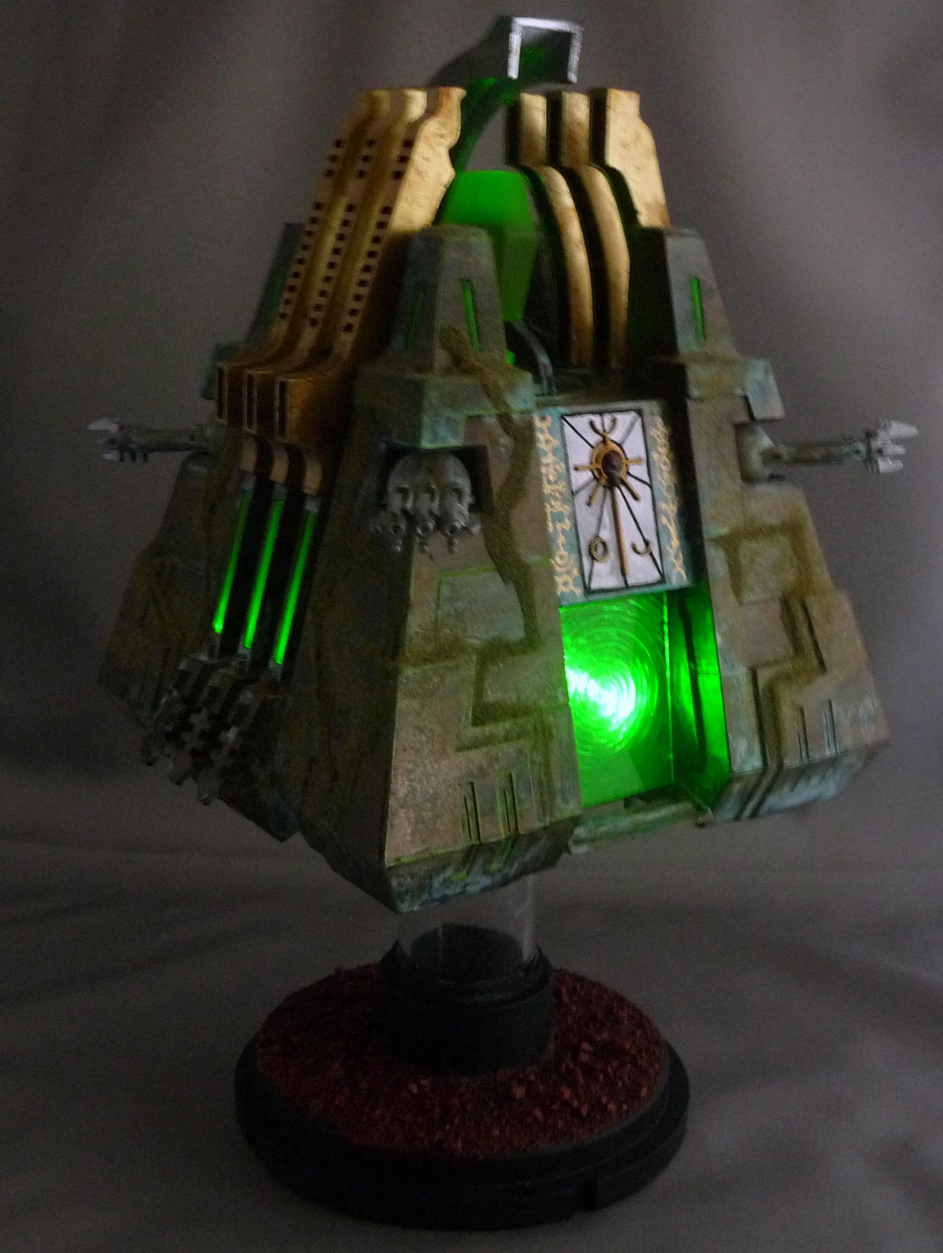 My first Light up Monolith